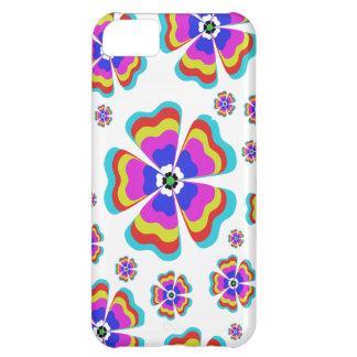 Rétro cru floral coque iPhone 5C