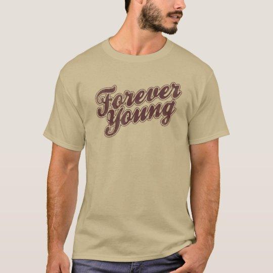Rétro culture pop graphique pour toujours jeune t-shirt