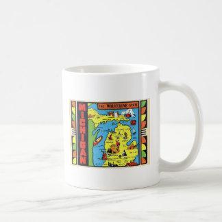 Rétro décalque vintage du Michigan Wolverine de Mug