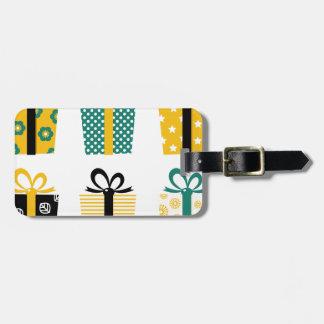Rétro édition extraordinaire de cadeaux étiquettes bagages