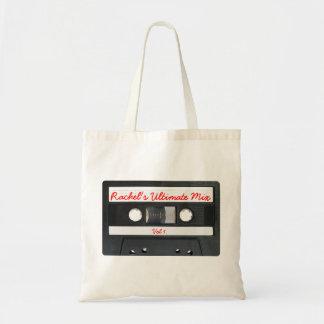 Rétro enregistreur à cassettes personnalisable sacs