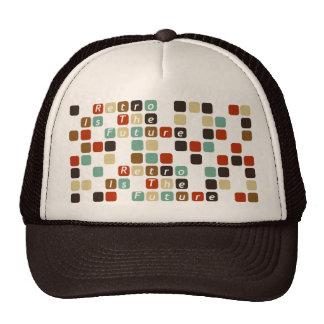 rétro est le futur casquette