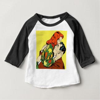 Rétro étreinte t-shirt pour bébé