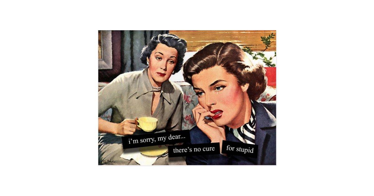R tro femme au foyer des ann es 1950 aucun traite cartes for Femme au foyer 1950