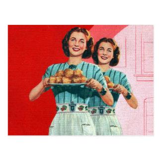 1950 cartes postales for Femme au foyer 1950