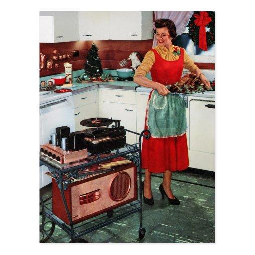 r tro femme au foyer vintage des ann es 1950 dans cartes On femme au foyer 1950