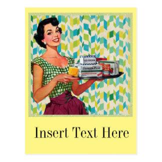 Femme foyer vintage cartes postales for Femme au foyer annees 50