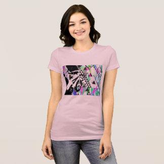 Rétro Fikeshot sur un dessus adapté par cool T-shirt