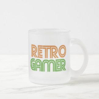 Rétro geek de Gamer Mug En Verre Givré