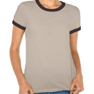 Rétro hibou mignon DJ avec des écouteurs T-shirts