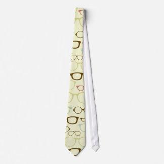 Rétro hippie de monocle cravate personnalisée