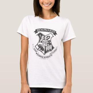 Rétro Hogwarts crête de Harry Potter | T-shirt