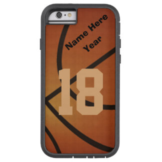 Rétro iPhone personnalisé 6 cas de basket-ball de  Coque Tough Xtreme iPhone 6