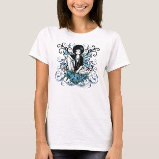Rétro Lilly dessus d'imaginaire de la Chine T-shirt