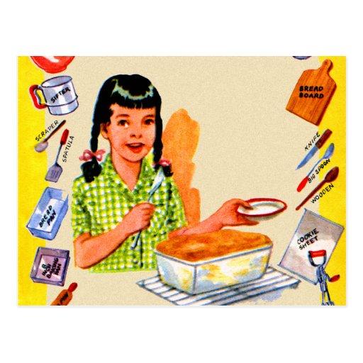 Livre de cuisine vintage - Les vieilles choses