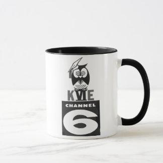 Rétro logo des années 50/années 60 de tasse de
