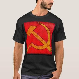 Rétro marteau et faucille t-shirt