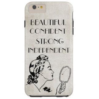 Rétro miroir de femme beau,… iPhone6 fort plus Coque iPhone 6 Plus Tough