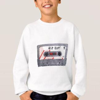 Rétro mixtape mignon de hip hop sweatshirt