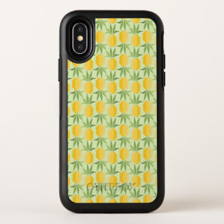 Rétro monogramme des ananas |