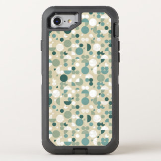 Rétro motif abstrait coque OtterBox defender iPhone 8/7