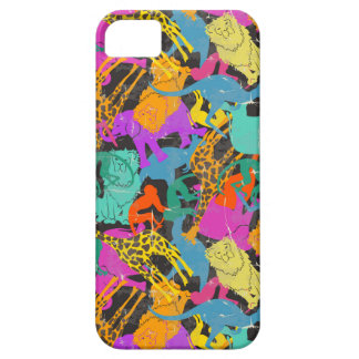 Rétro motif animal de silhouettes coque Case-Mate iPhone 5