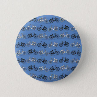 Rétro motif bleu de bicyclette badges