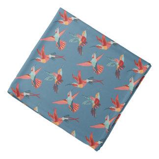 Rétro motif de colibri bandanas