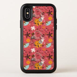 Rétro motif floral
