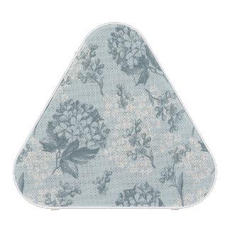 Rétro motif floral avec des fleurs de viburnum haut-parleur bluetooth