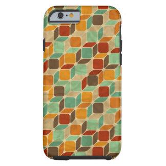 Rétro motif géométrique 4 coque iPhone 6 tough
