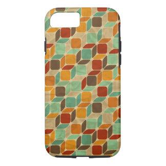 Rétro motif géométrique 4 coque iPhone 7
