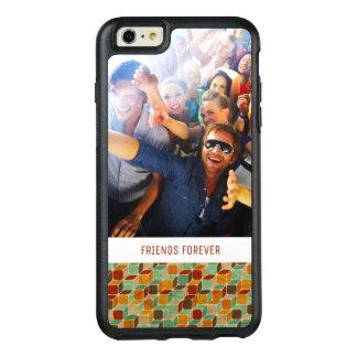 Rétro motif géométrique fait sur commande 4 2 de coque OtterBox iPhone 6 et 6s plus