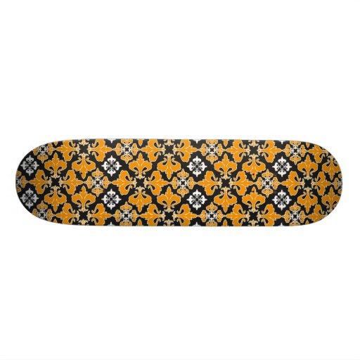 Rétro motif gothique de Halloween Skateboards Customisés