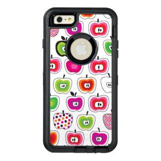 Rétro motif mignon de pomme coque OtterBox iPhone 6 et 6s plus