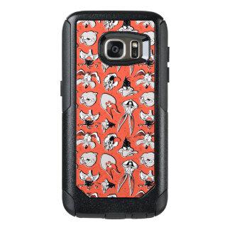 Rétro motif tramé LOONEY de TUNES™ Coque OtterBox Samsung Galaxy S7