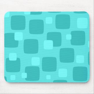 Rétro Mousepad turquoise Tapis De Souris