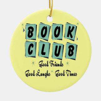 Rétro ornement de club de lecture - bons amis