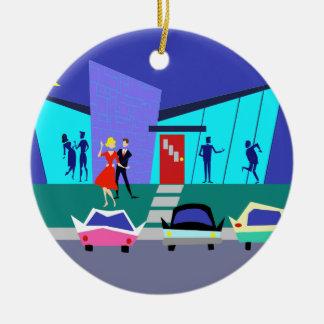 Rétro ornement de Noël de partie de Chambre