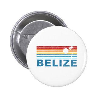 Rétro palmier Belize Badge