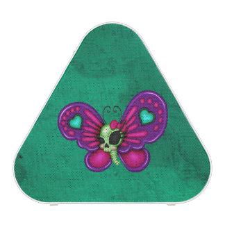Rétro papillon de zombi d'amusement haut-parleur bluetooth