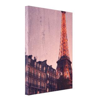 Rétro Paris - toujours une bonne idée - toile