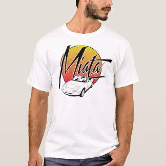 Rétro pièce en t de Miata T-shirt