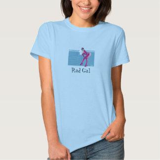 Rétro pièce en t de rad gallon t-shirts
