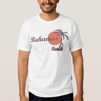 """Rétro pièce en t """"portée"""" de touriste de paume des t-shirts"""