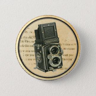 Rétro Pin vintage de bouton de photographe Badges