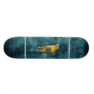 Rétro planche à roulettes d'Aoudad de clair de lun Skateboards