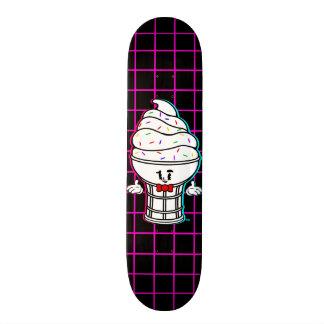 Rétro plate-forme vintage de planche à roulettes plateau de skate