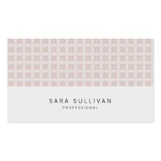 Rétro professionnel BusinessCard de grille de Carte De Visite Standard