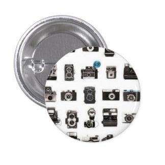 Rétro règle d appareils-photo pin's avec agrafe